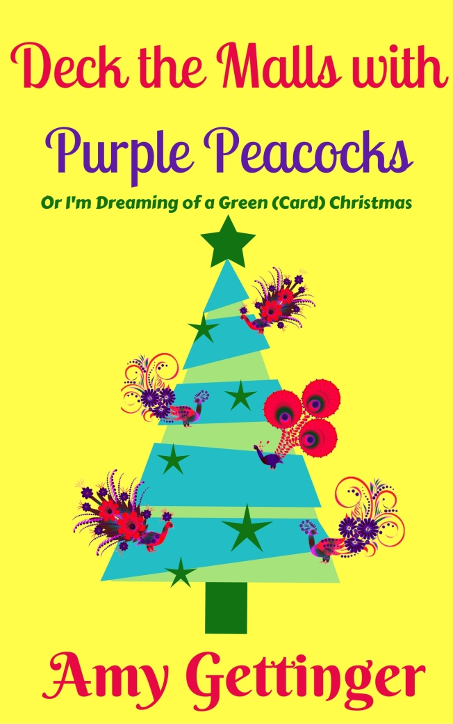 Deck the Malls with Purple Peacocks Book cover OCT 2017 final